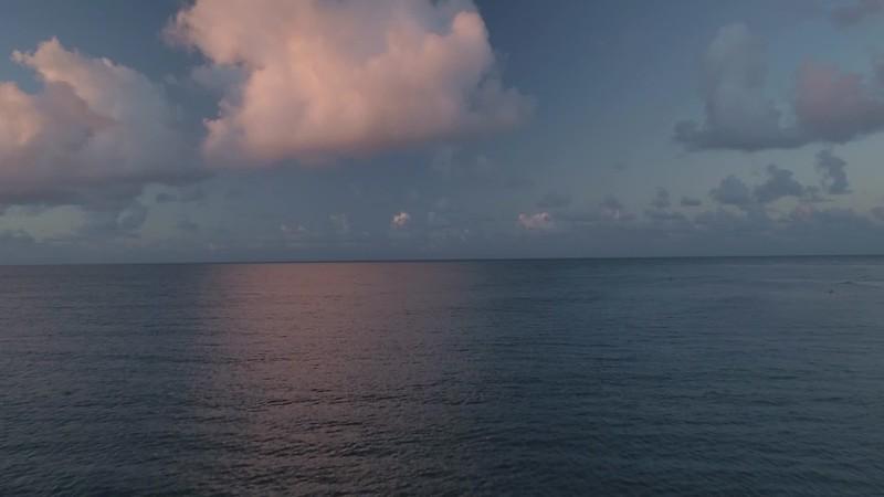 Ocean cloud pan sorft and beautiful