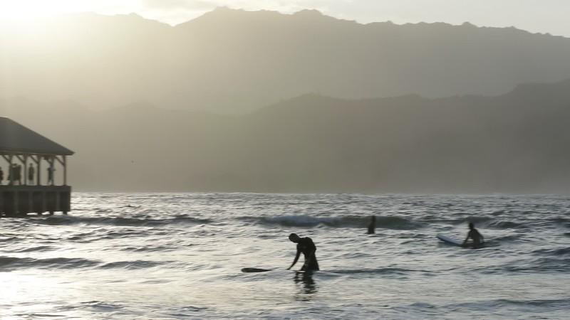 surf lesson hanalei
