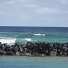 Foil surfing Kapaa