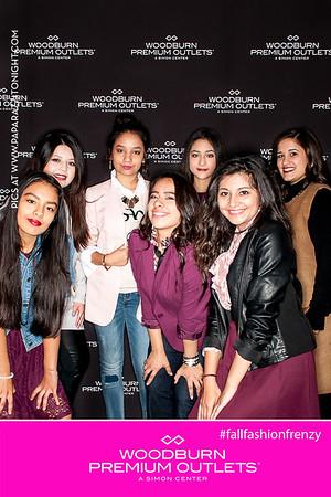 Woodburn Fall Fashion Frenzy 2016 - PINK TENT