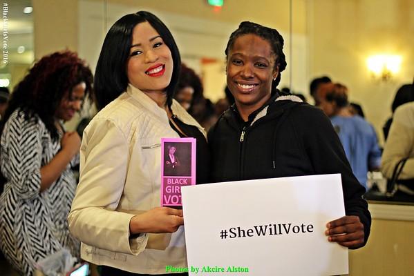 PHOTOS by AKCIRE ALSTON: #BlackGirlsVote | #SheWillVote 1.29.16