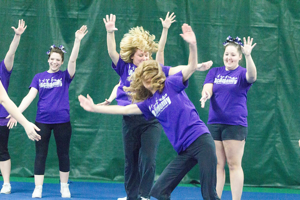 Academy Cheer Challenge 2/1/13