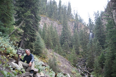 Trail behind Roosevelt Lodge