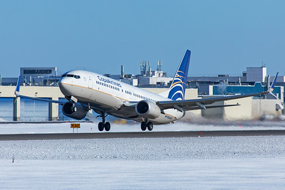 Copa Airlines Boeing 737-8V3 HP-1856 3-1-20