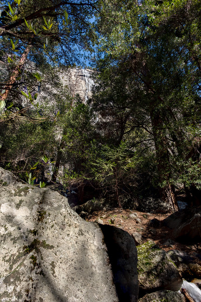Ahwahnee Fall in the distance ... shot with a 20mmf/1.8 wide angel lens