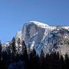 Late afternoon Half Dome 2/26/17 (50mm f/1.2)
