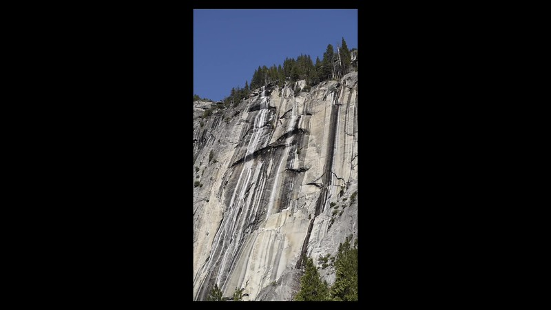 VIDIO of the Ahwahnee Falls