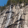 Ahwahnee Falls - up close