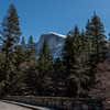 The next bridge had a view of Half Dome