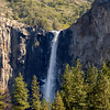 Upper Bridalveil Fall shot with 80-200mmf/4