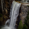 View of Vernal Fall with 50mm f/1.2 lens
