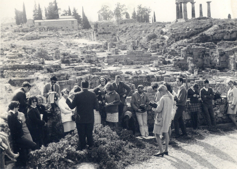 1969 Corinth - Middle East Field Trip