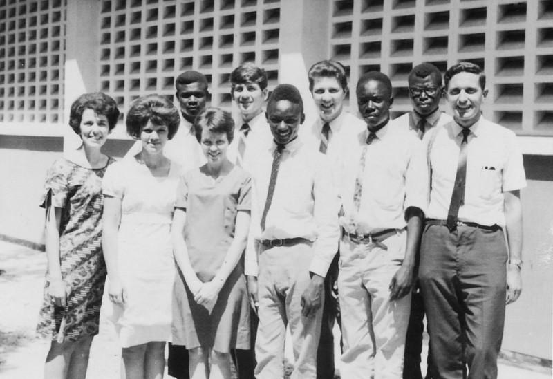1969 Uganda - Around the World team