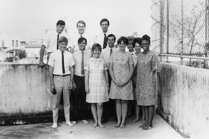 1970 Around the World  team