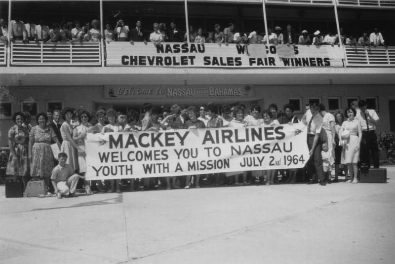 Nassau-YWAM , July 1964