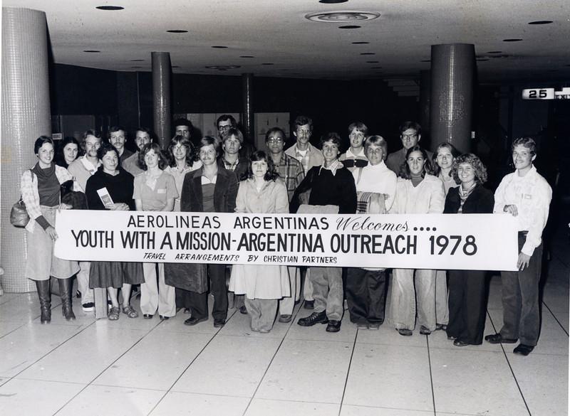 1978 Argentina Outrech (Los Angeles departure)