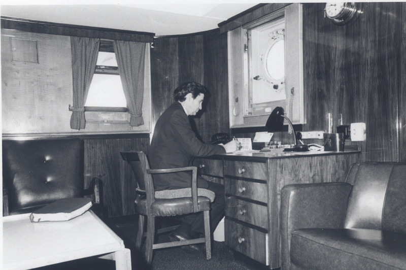 """Maori"", ship we lost in 1973 Captain Ben Applegate"