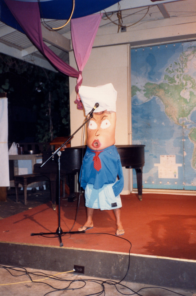 Kona 1985 LTS Talent show in pavilion
