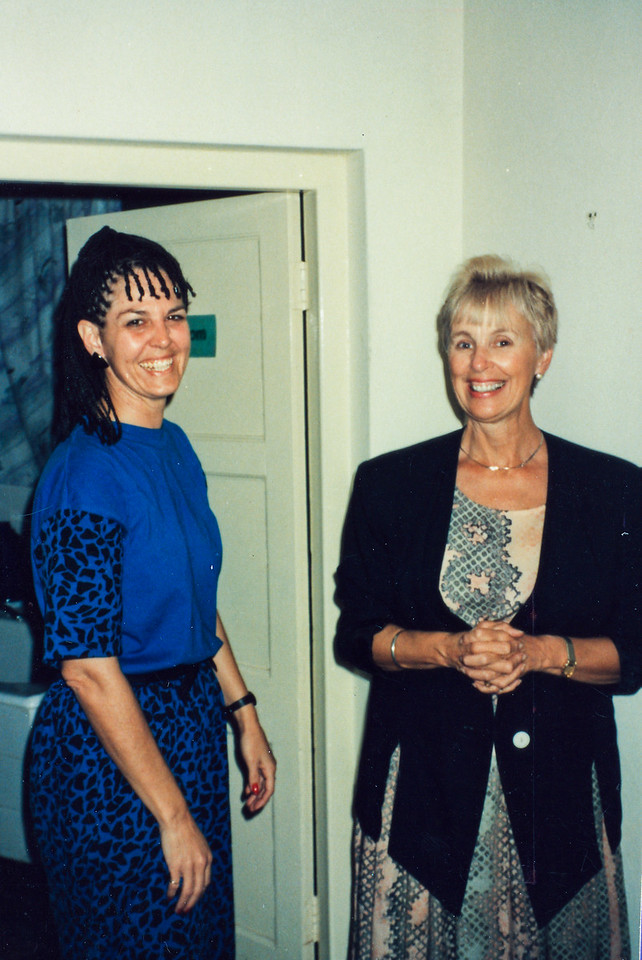Staffing Leadership Training at Nairobi, Kenya, 1992