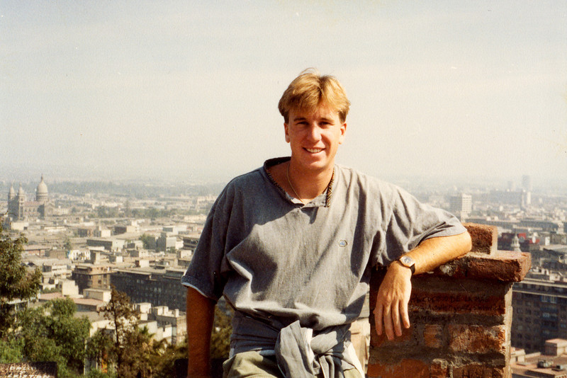 David Cunningham in Chile 1991