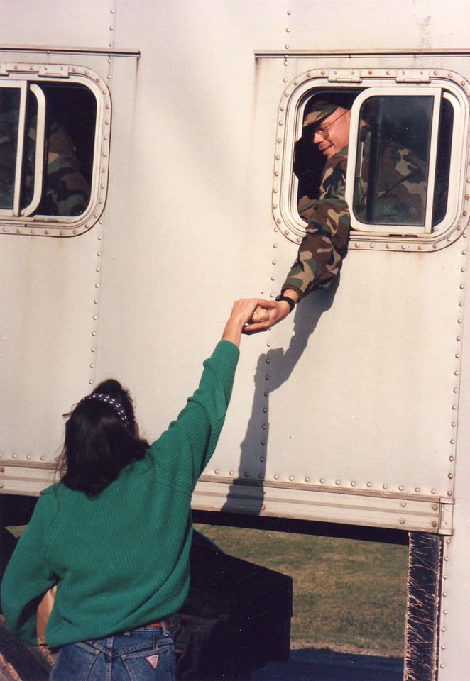 CDTS outreach to Okinawa in 1991