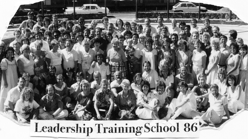 1986 Leadership Training School -Loren called all YWAM leaders back for this school. Led by Earl Pitts