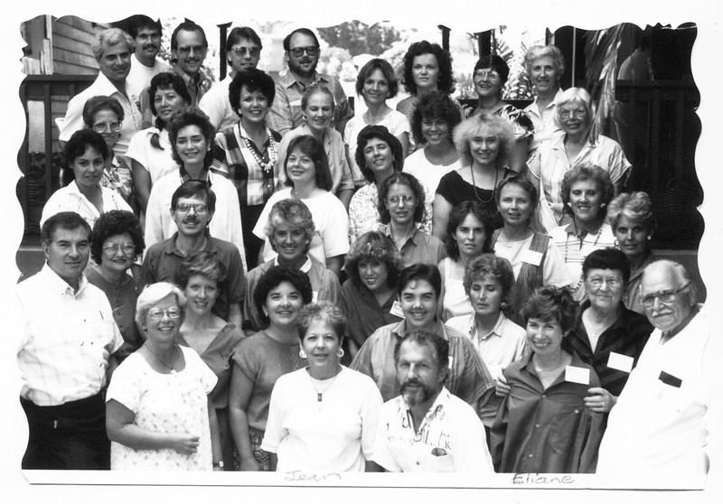 1988 Kona's 1st Authors Training School-Led by Janice (Cunningham)  Rogers. The first Authors Training School was in Tyler, TX in 1986.
