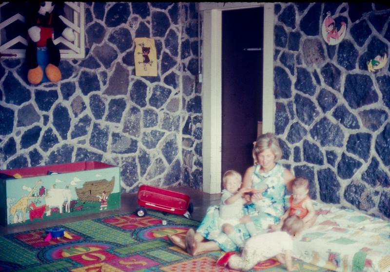 Diane Hallas  Serving in the nursery  Left: Matthew Hallas?