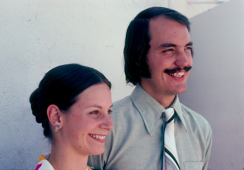 Tom and Cynthia Bloomer 1974
