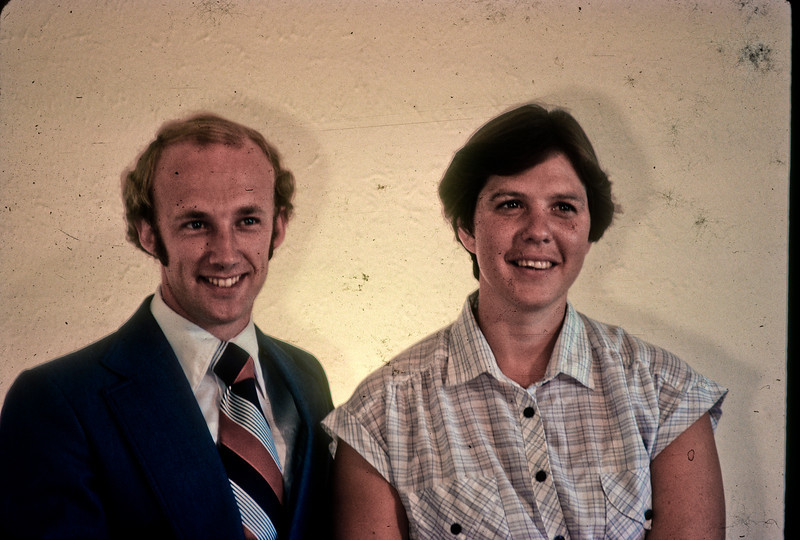 Arnold Allen and wife 1981