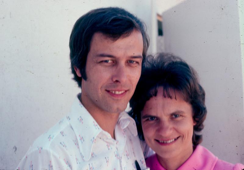 Arnold and Heidi Brietkreuz 1974