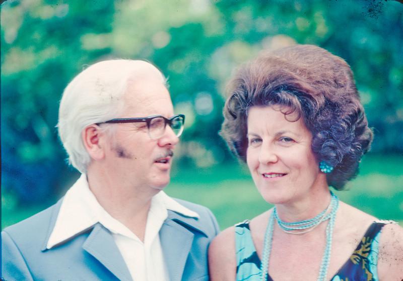 Jim and Joy Dawson 1976