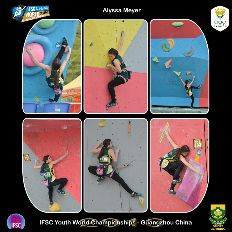 9x9 - Alyssa Youth B IFSC Youth World Championships 2016