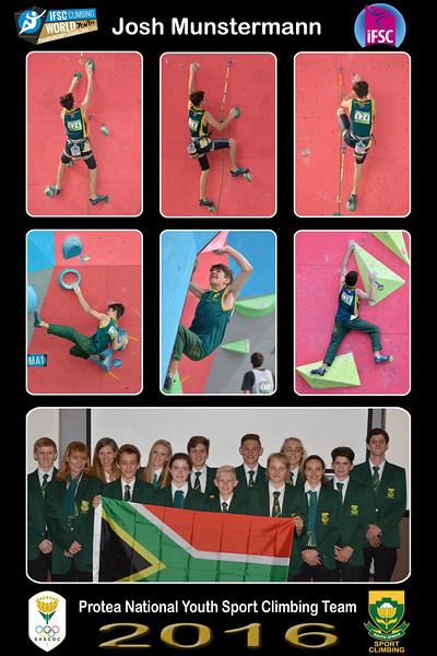 8x12 Collage JOSH - Protea Team01