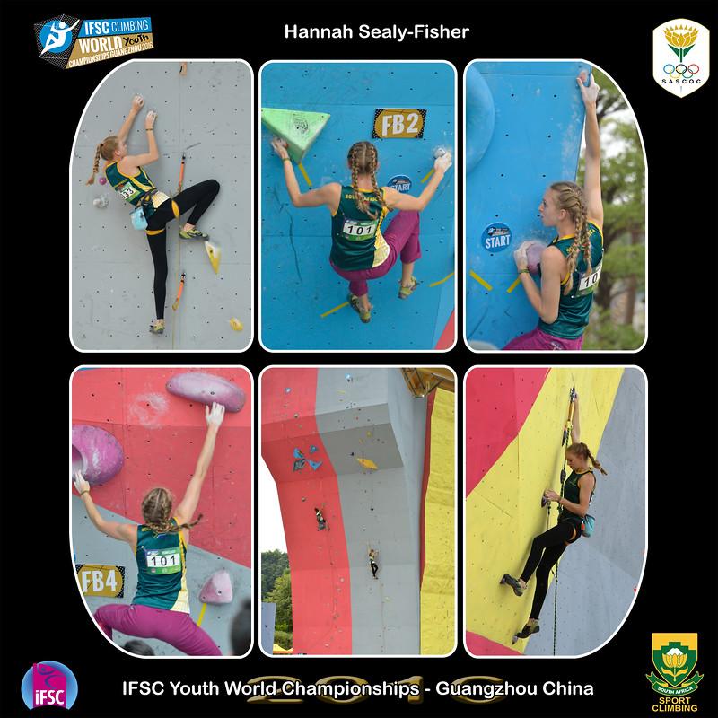 9x9 - Hannah Youth B IFSC Youth World Championships 2016