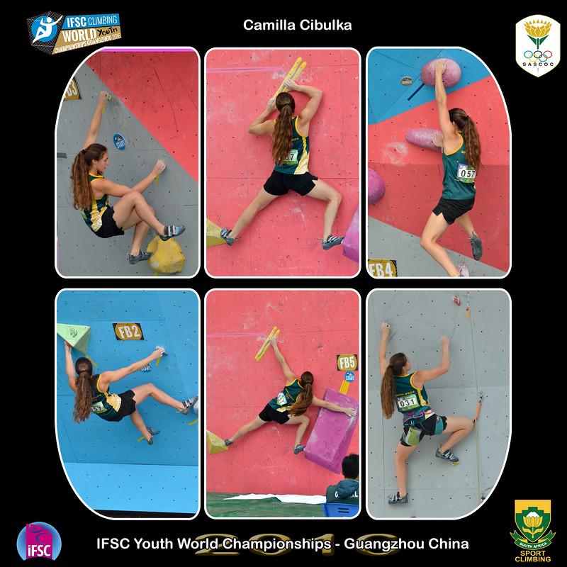 9x9 - Camilla Youth B IFSC Youth World Championships 2016