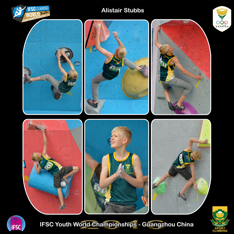 9x9 - Alistair Youth B IFSC Youth World Championships 2016