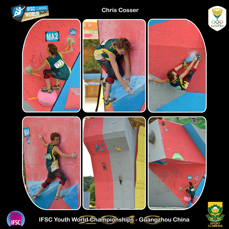 9x9 - Chris Youth A IFSC Youth World Championships 2016