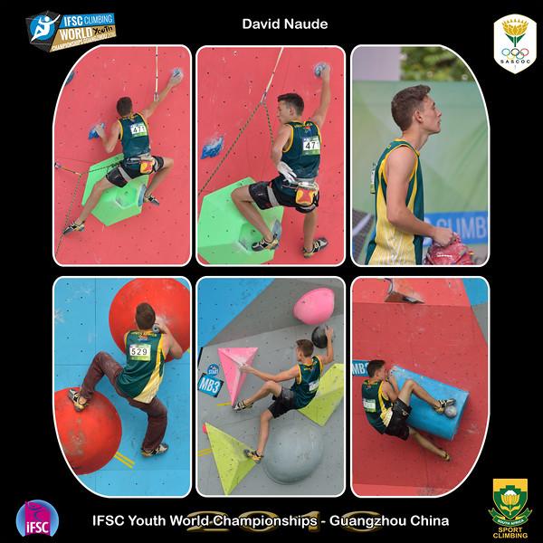 9x9 - David Youth B IFSC Youth World Championships 2016