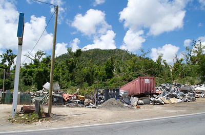 Rubble Post Hurricane Maria
