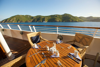 SeaDream Yacht Club - Dining al fresco