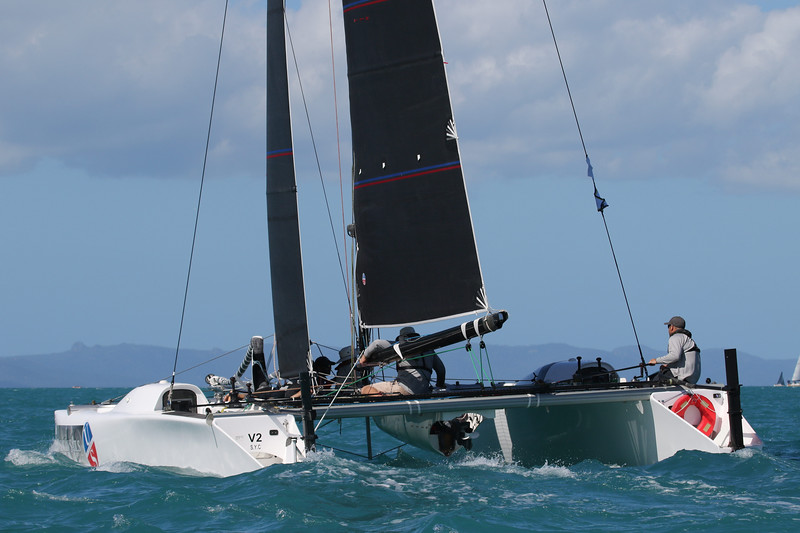 ullman sails skippered by Paul Mitchell