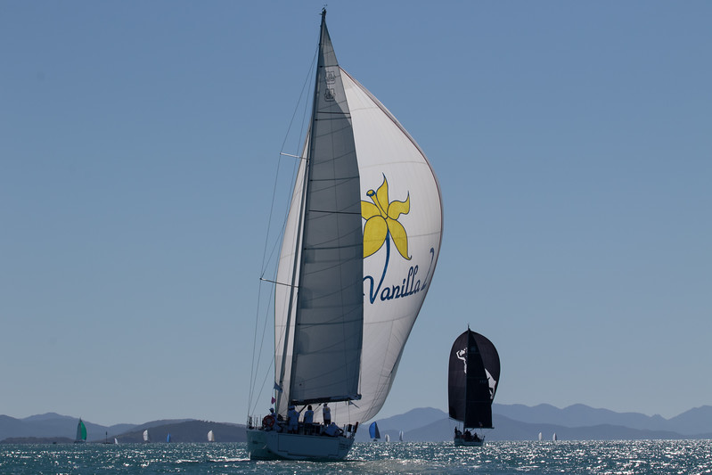 Vanilla 2 Skippered by Fred Heavey