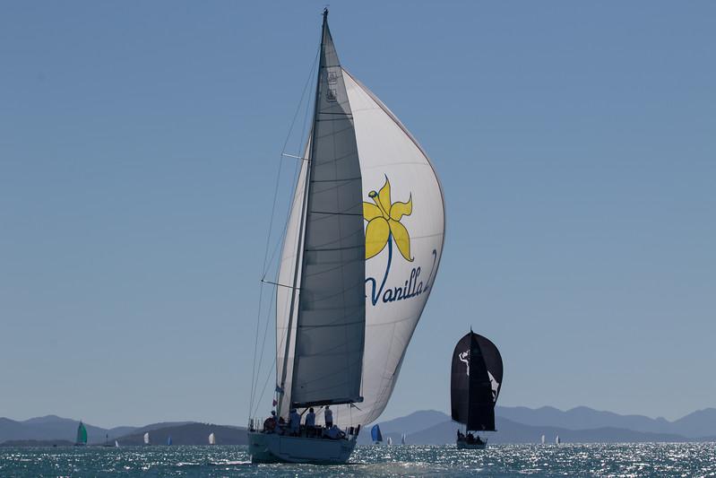Vanilla 2 Skippered by Fred Heavey