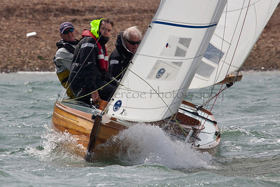 XOD Sailing At The 2012 Aberdeen Asset Management Cowes Sailing Week. Cathy Vercoe LuvMyBoat.com