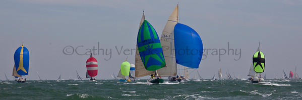 Domaine And Italia Sailing At The 2012 Aberdeen Asset Management Cowes Sailing Week Cathy Vercoe LuvMyBoat.com