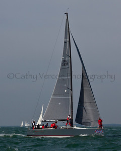 Antix Sailing At The 2012 Aberdeen Asset Management Cowes Sailing Week. Cathy Vercoe LuvMyBoat.com