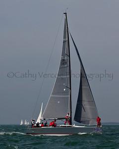 Antix Sailing At The 2012 Aberdeen Asset Management Cowes Sailing Week. Cathy Vercoe LuvMyBoat.com