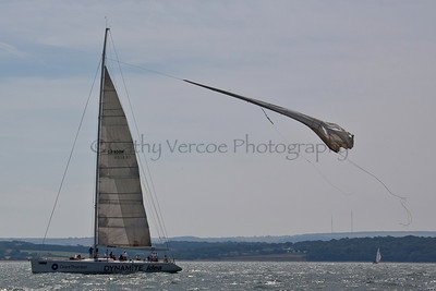 Dynamite Elite Idea Sailing At The 2012 Aberdeen Asset Management Cowes Sailing Week. Cathy Vercoe LuvMyBoat.com