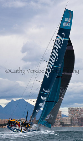 Volvo Ocean Race Alicante 2011 Cathy Vercoe LuvMyBoat.com